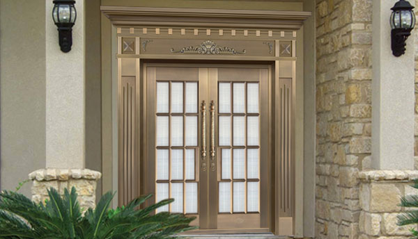 Do you know how to tell the difference between true and false copper doors?