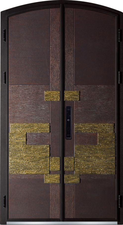 High end cast aluminum door series